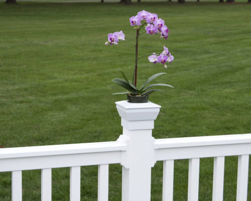 Deck Flower Holder
