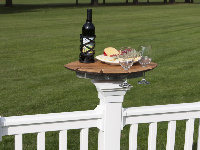 Railing Wine and Cheese Board