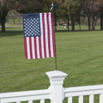 Porch Flag Holder